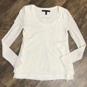 White House Black Market size xxs top